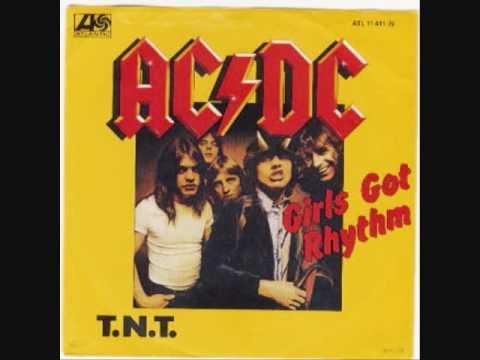 Girls Got Rhythm - AC/DC - With Lyrics