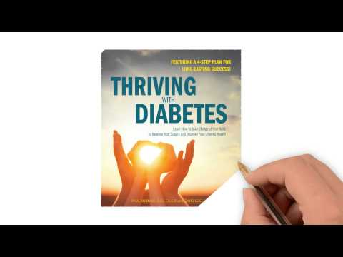 Watch the Thriving with Diabetes Book Trailer