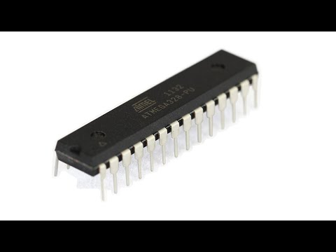 Atmel Programming Tutorial 1 - 1st Programming and Blink a LED
