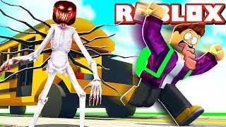 HORROR MONSTER CHASING US ON THE FIRST SCHOOL DAY IN ROBLOX!