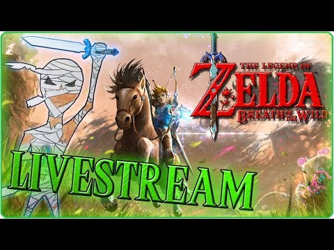 The Legend of Zelda: Breath of the Wild 🔴 Den Orni Titan angehen! #9 - Livestream