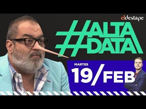 Lanata perdió un juicio por un informe falso | #AltaData, todo lo que pasa en un toque