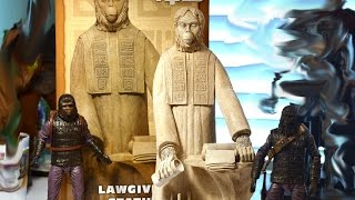 "Neca Planet of the Apes THE LAWGIVER STATUE review for 7"" scale FIGURES."
