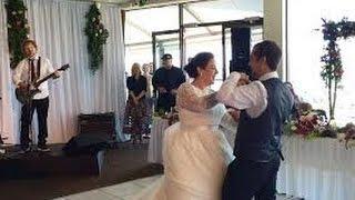 Ed Sheeran Surprises Deserving Wedding Couple! first dance
