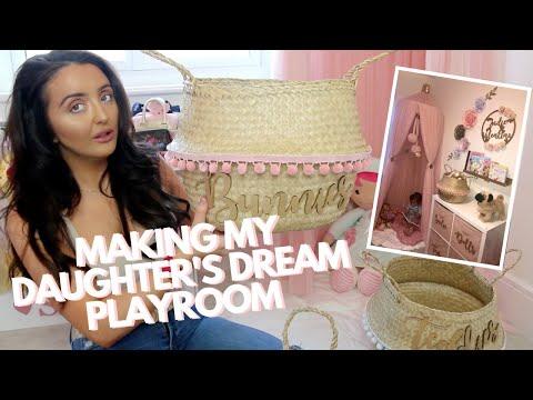 MAKING MY DAUGHTER'S DREAM PLAYROOM!