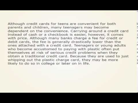 The Advantages And Disadvantages Of Credit Cards For