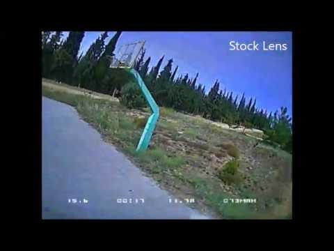 hs1177 Stock lens vs Gopro Hero2 lens
