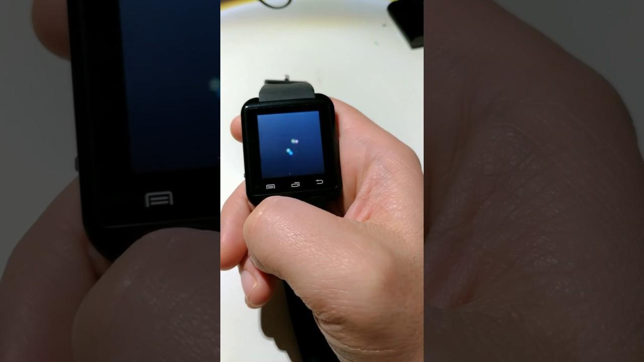 U8 Smartwatch and Clones Password for Unlock and Reset