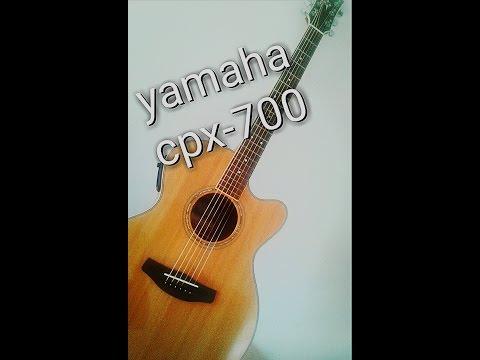 violão yamaha cpx 700 - Review