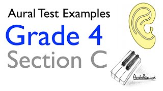 Aural Test Examples: Grade 4 ABRSM - Section C