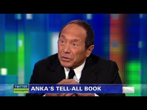Paul Anka on writing