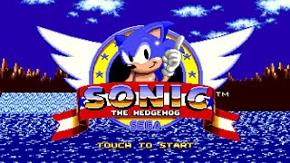 SONIC The Hedgehog, Ёж Соник прохождение SEGA Mega Drive/Genesis [020]