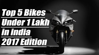 Top 5 Bikes in india Under 1 lakh - Bikes Under 1 Lakh in india 2017
