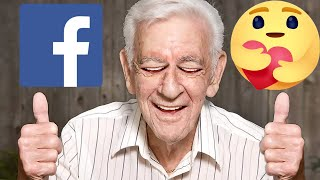 Savage Grandpa Of Facebook | Meme Couch