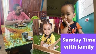 Sunday time with family#Be happy#Be motivated#always think positive