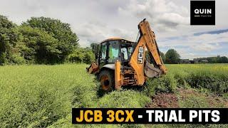 JCB 3CX - Trial Pits