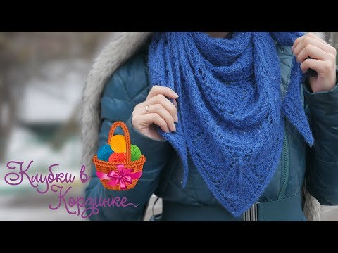 Бактус спицами для женщин схемы вязания