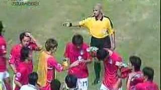 AFCアジアカップ2007 - 韓国がルールを破り、休憩する thumbnail