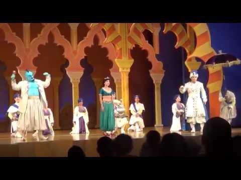 Disneyland Resort - Aladdin A Musical Spectacular (HD) 8-15-14