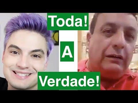"""A Verdade porque o Pai de fã chama Felipe Neto de """"Sem vergonha"""". Felipe Neto responde mentindo!"""