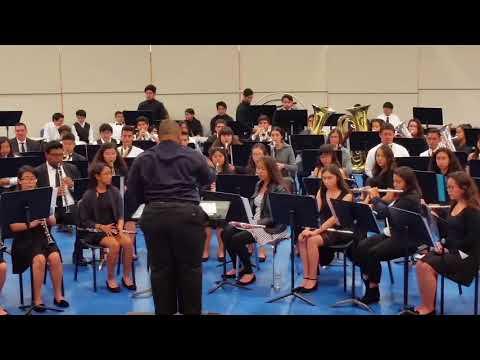 El Rancho High School concert 2018 - Amparito Roca
