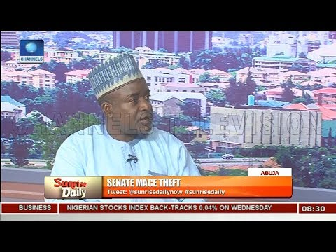 Mace Theft: Why Political Elites Are Working Against Change In Nigeria-- Bello Pt.2 |Sunrise Daily|
