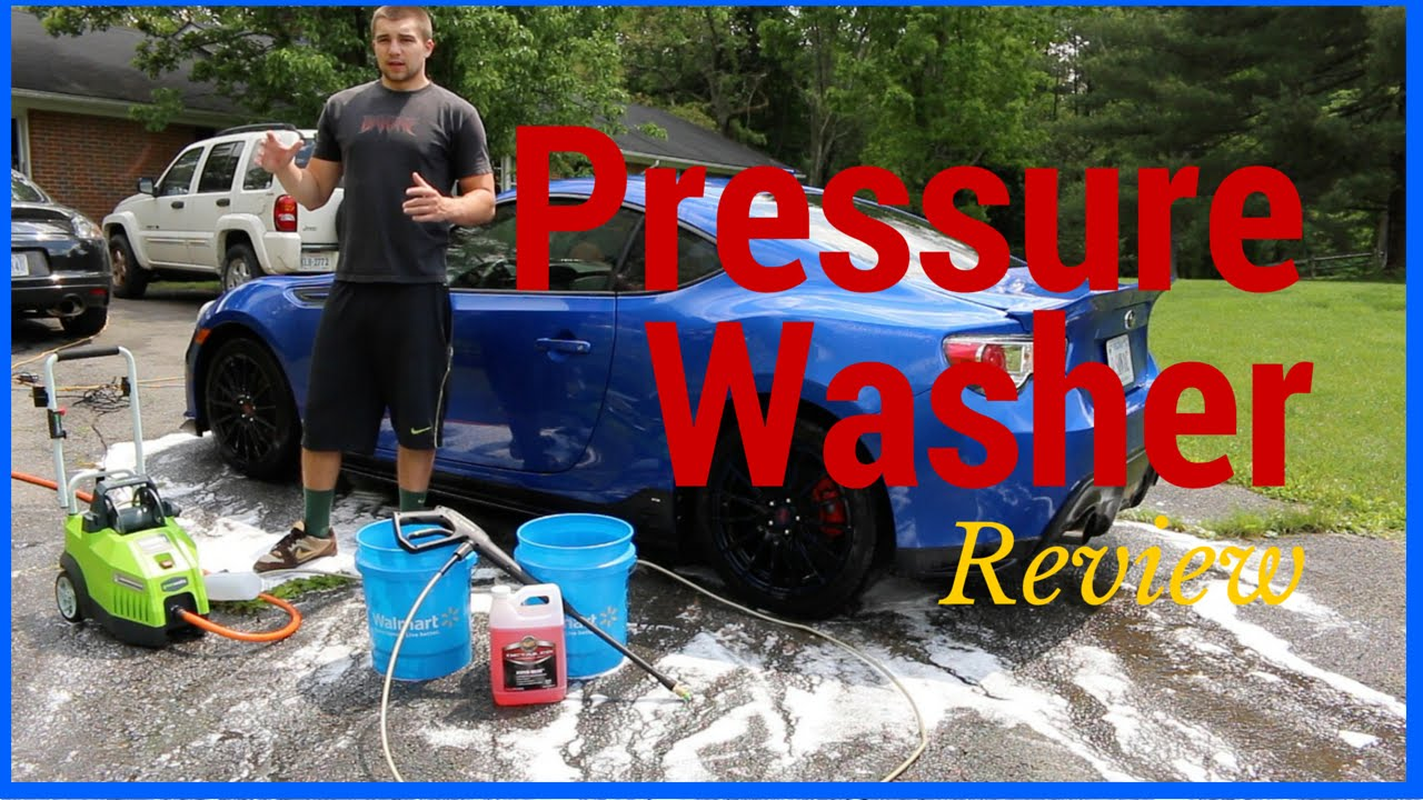 Best Pressure Washer For Washing Cars Greenworks