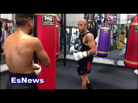 UFC Superstar Jose Aldo Will Be A Boxing Champ Landing Monster Combos On Heavy Bag
