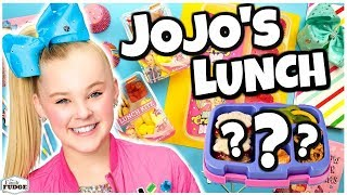We Made Lunch for @Its JoJo Siwa 🍎 Bunches Of Lunches