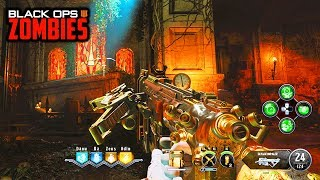 NEW WOODEN STAKE CROSSBOW WEAPON EASTER EGG GAMEPLAY! (Black Ops 4 Zombies Dead of the Night)