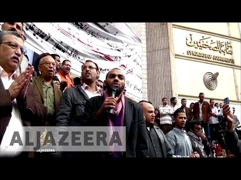 Egypt's Press Syndicate under fire - The Listening Post (Lead)