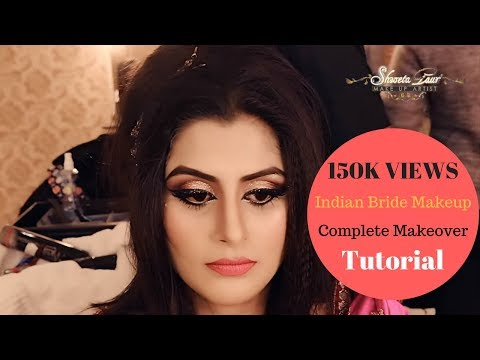 Complete Makeover: Bride Makeup & Hair