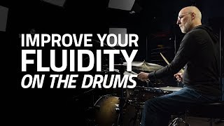 One Simple Exercise To Improve Your Fluidity On The Drums - Drum Lesson