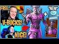 Streamers BUY & React to *NEW* Fallen Love Ranger Skin & Challenge Pack! - Fortnite Moments