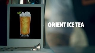 Orient Ice Tea Drink Recipe - How To Mix