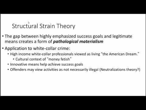 CRIM 451: Explaining White-Collar Crime