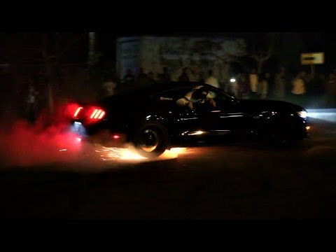 700HP MUSTANG Catches On FIRE At Car Meet!