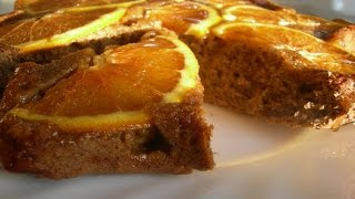Кофейный Пирог с Апельсинами.Очень Простой и Вкусный Рецепт