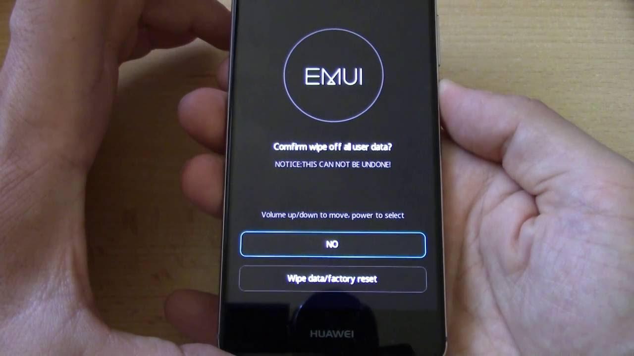Huawei P9 Emui 4 1 Recovery Factory Reset Itfroccs Hu Youtube