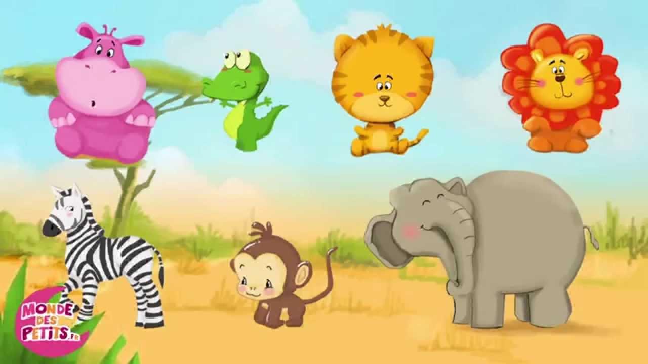 Apprendre les animaux de la savane youtube - La savane dessin ...