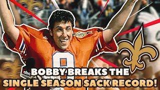 """THE WATERBOY"" BREAKS SEASON SACK RECORD! BOBBY BOUCHER"