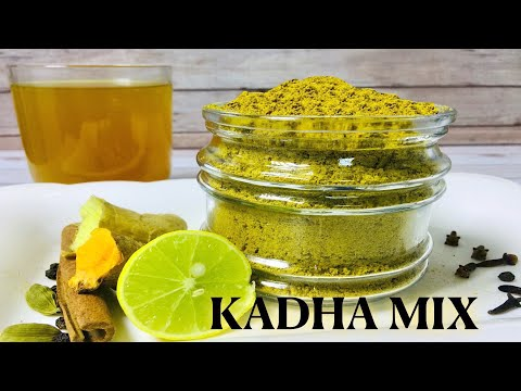 Instant Kadha / Kashayam Mix | Immunity Boosting Drink | Home Remedy For Cold, Cough & Sore Throat