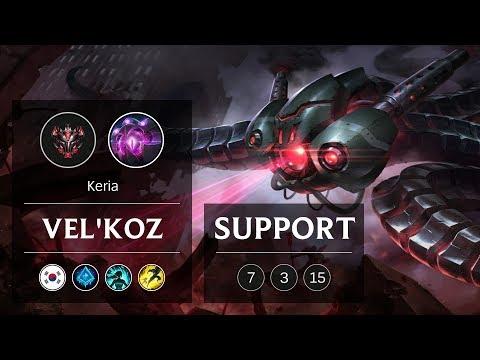 Vel'Koz Support vs Thresh - KR Grandmaster Patch 9.3