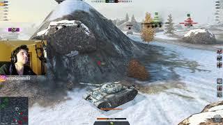 WoT Blitz - Я ненавижу этот танк.Три боя на Т 54 Облегченный- World of Tanks Blitz (WoTB)