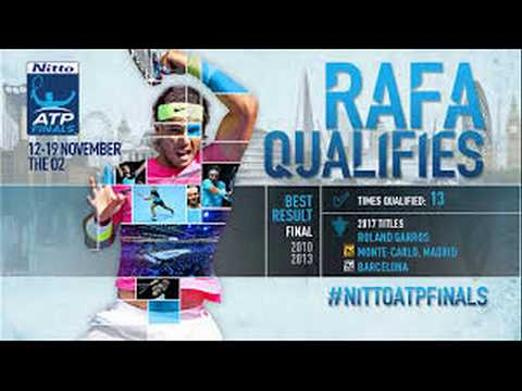 Legend Rafa Nadal Training ATP World Tour Finals 2017 BEFOR FIRST DAY