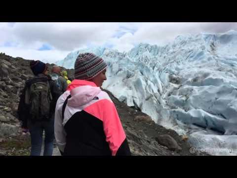 Perito Moreno Glacier rupturing with mini tsunami in Lake Argentina!