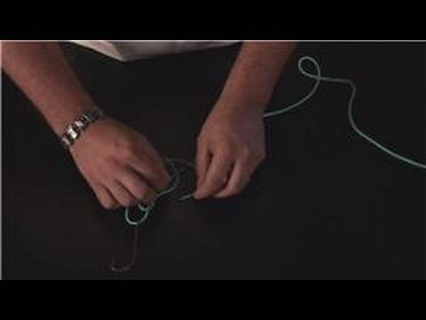 How to Tie a Loop : Perfection Loop Fishing Knot