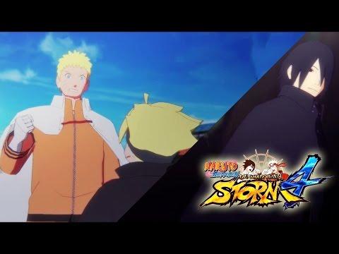 Naruto Shippuden Ultimate Ninja Storm 4 ENDING Manga Chapter 699 & 700 Animated (ENGLISH DUB)