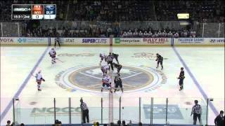 Brian Flynn slapshot goal 1-0 April 26 2013 NY Islanders vs Buffalo Sabres NHL Hockey