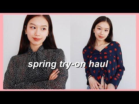 HUGE SPRING CLOTHING HAUL 2019